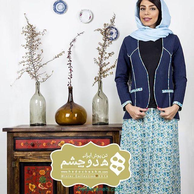 سارافون کت دخترانه سنتی (۹)