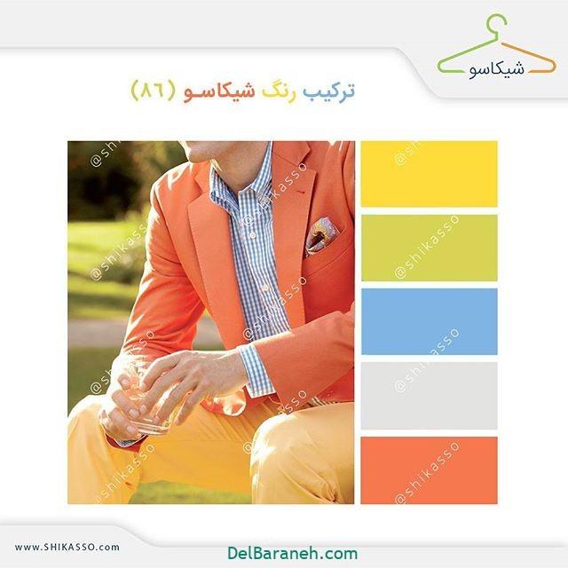 ست کردن رنگ لباس مردانه (۱۵)