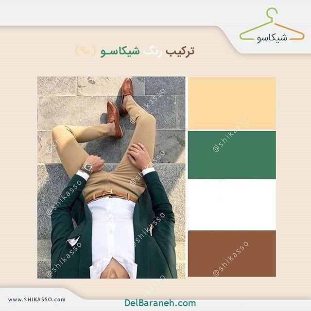 ست کردن رنگ لباس مردانه (۱۸)