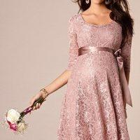 لباس بارداری مجلسی | ۶۰ مدل لباس مجلسی شیک برای دوران حاملگی