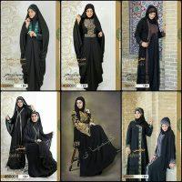 مانتو عربی مجلسی | ۴۰ مدل مانتو مجلسی بلند عربی زنانه + قیمت