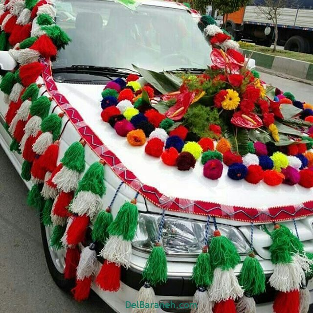 مدل ماشین عروس (۴۶)
