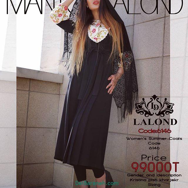 مدل مانتوهای بلند دخترانه 2018