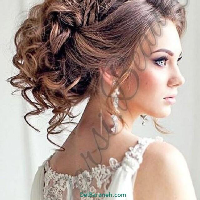 مدل مو باز مدل مو ساده نامزدی (۲۳)