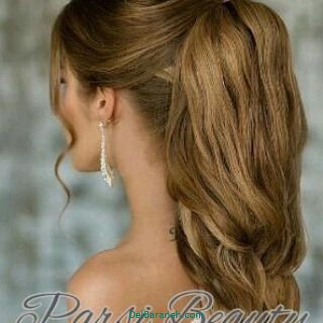 مدل مو باز مدل مو ساده نامزدی (۶)