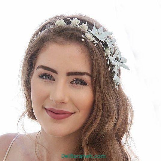 مدل مو با گل طبیعی (۱۳)