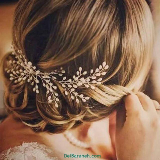 مدل مو با گل طبیعی (۱۴)