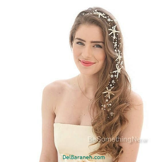 مدل مو با گل طبیعی (۱۹)