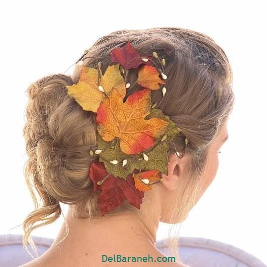 مدل مو با گل طبیعی (۳۱)