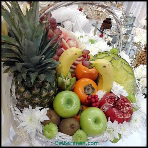 میوه آرایی سبد میوه (۳)