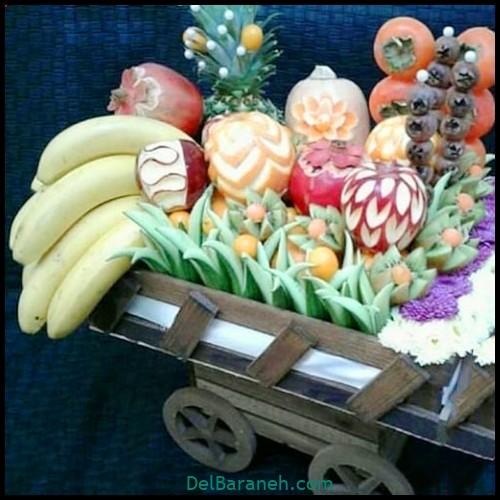 میوه آرایی سبد میوه (۶)