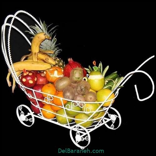 میوه آرایی سبد میوه (۷)