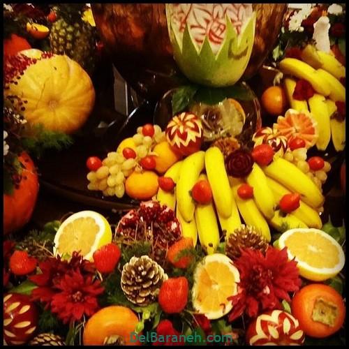 میوه آرایی سبد میوه (۸)