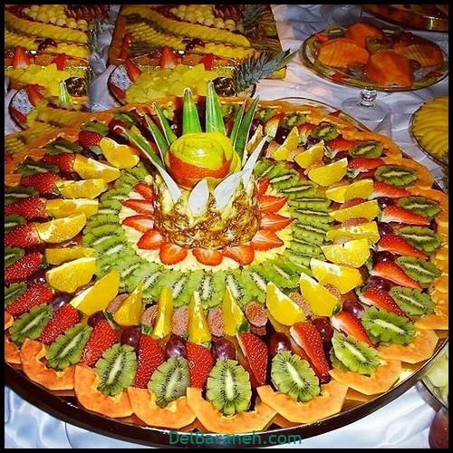 میوه آرایی شب یلدا عروس (۱)