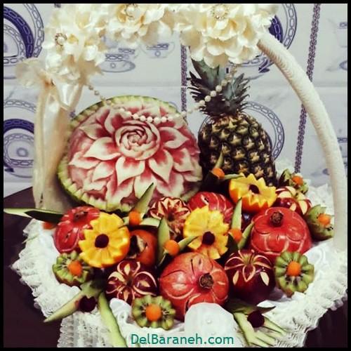 میوه آرایی شب یلدا عروس (۱۰)