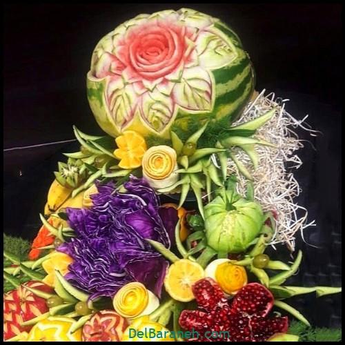 میوه آرایی شب یلدا عروس (۱۲)