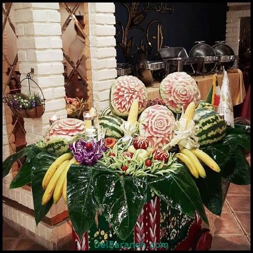 میوه آرایی شب یلدا عروس (۲)