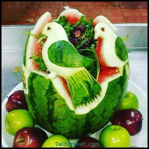 میوه آرایی شب یلدا (۲)