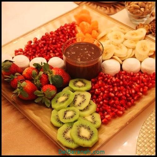 میوه آرایی شب یلدا (۶)