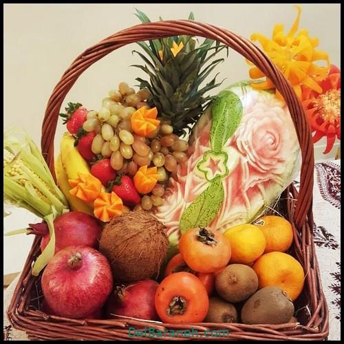 میوه آرایی شب یلدا (۷)
