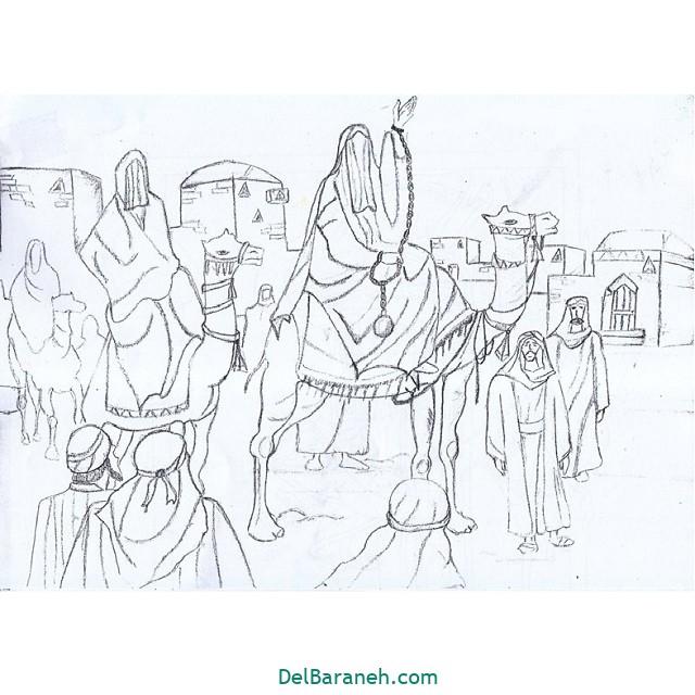 نقاشی اربعین (۱۲)