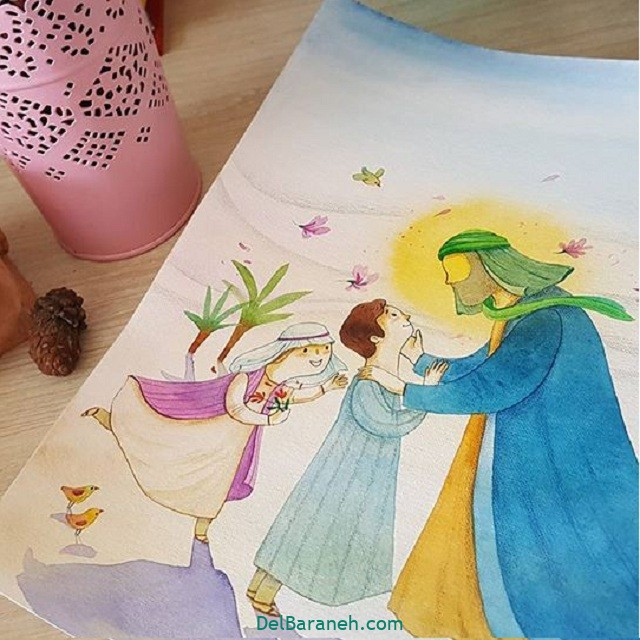 نقاشی اربعین (۲)