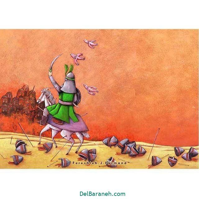 نقاشی اربعین (۲۲)