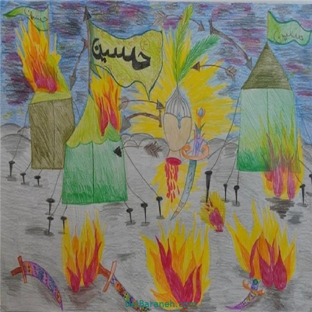 نقاشی اربعین (۲۵)