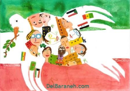 نقاشی روز دانش آموز (۱۰)