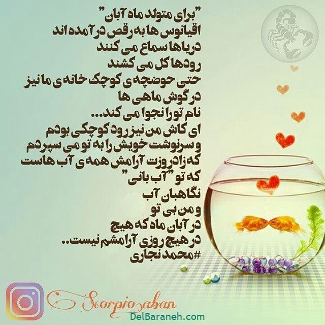 پروفایل تولد آبان ماهی ها