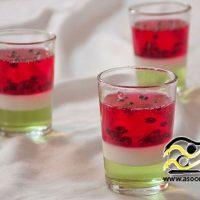 ژله شب یلدا | ۶۰ مدل ژله هندوانه و ژله انار برای شب یلدا + ۵طرز تهیه