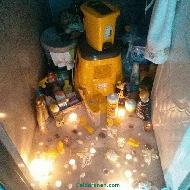 تزیین حمام عروس (۲۴)