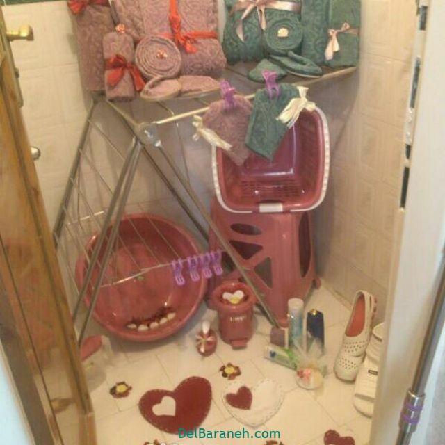 تزیین حمام عروس (۲۹)