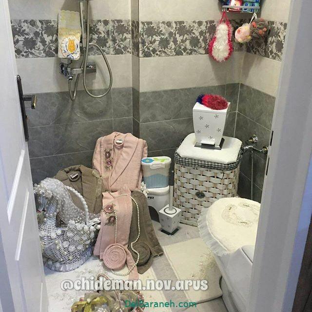 تزیین حمام عروس (۶)