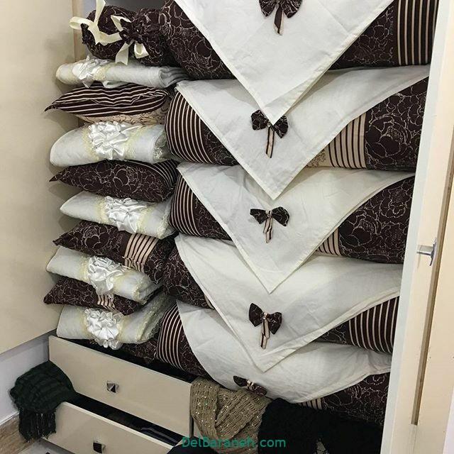 تزیین رختخواب عروس (۱)