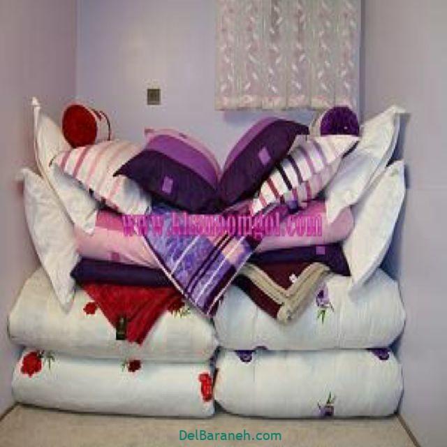 تزیین رختخواب عروس (۱۶)