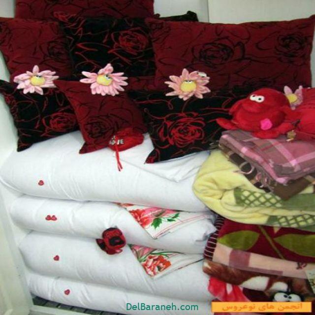 تزیین رختخواب عروس (۲)