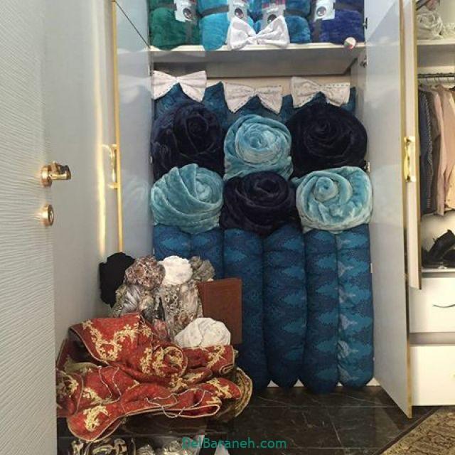 تزیین رختخواب عروس (۹)