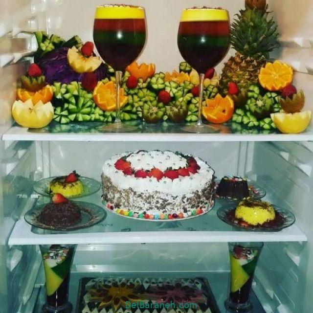 تزیین یخچال عروس (۱)