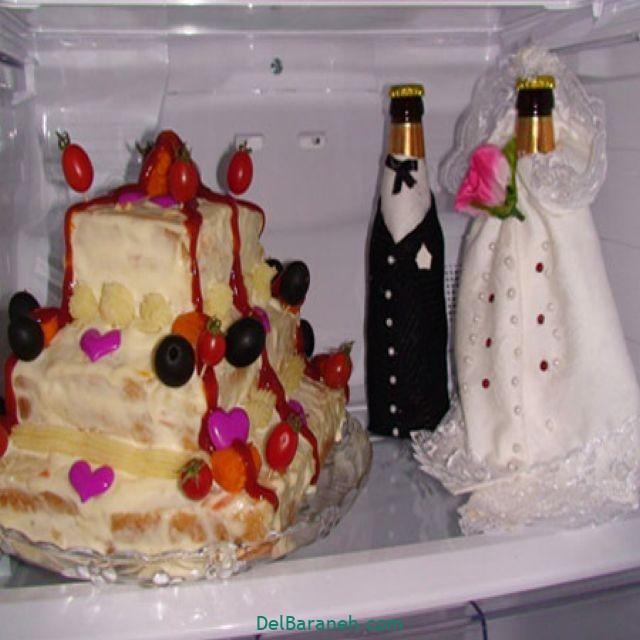 تزیین یخچال عروس (۱۶)