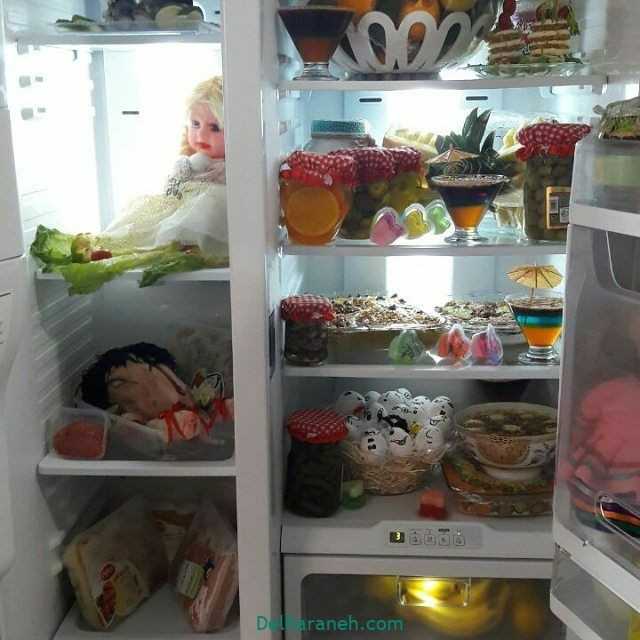 تزیین یخچال عروس (۲۹)