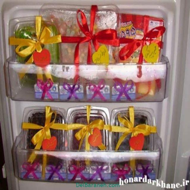 تزیین یخچال عروس (۳)