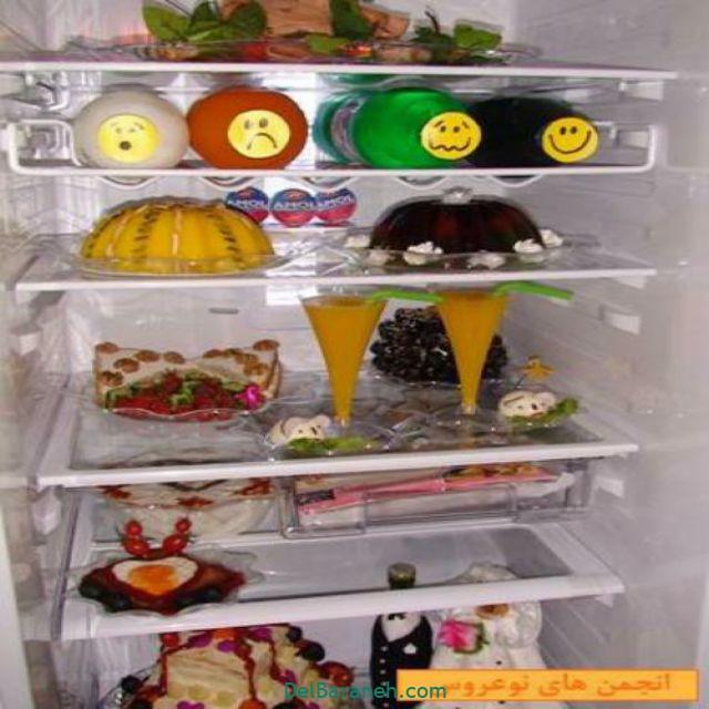 تزیین یخچال عروس (۳۶)