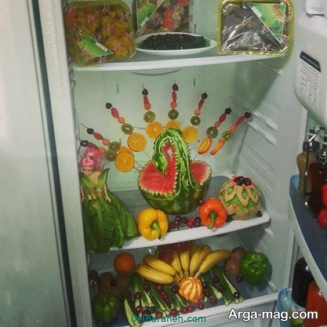 تزیین یخچال عروس (۴۰)
