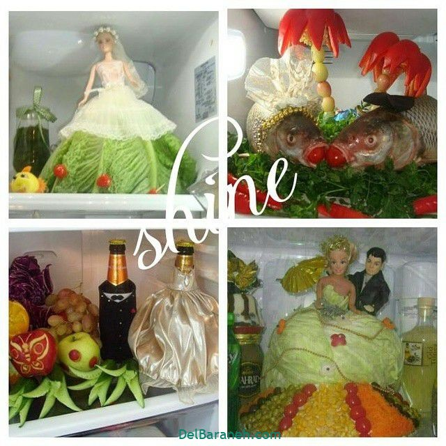 تزیین یخچال عروس (۴۱)