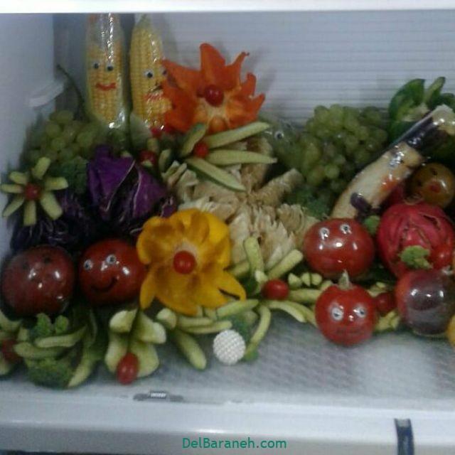 تزیین یخچال عروس (۶)