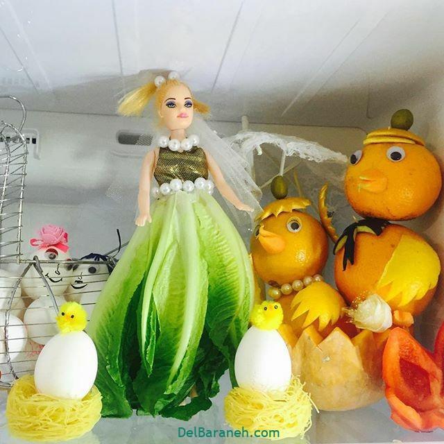 تزیین یخچال عروس (۸)