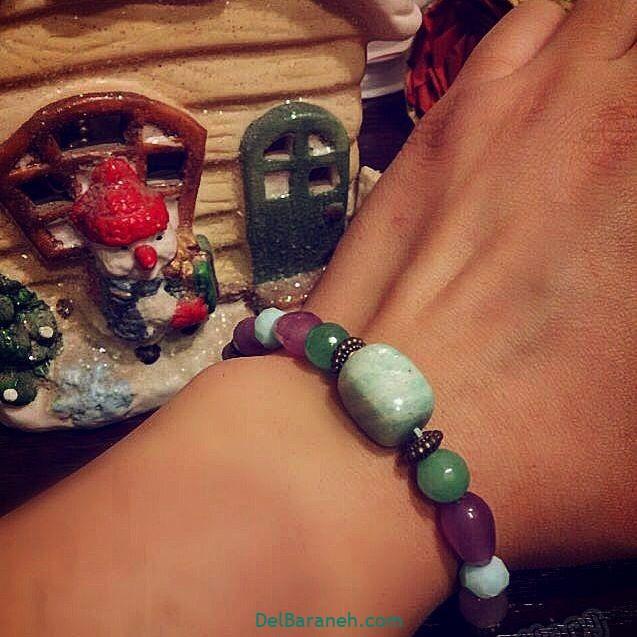 دستبند مهره ای (۱۰)