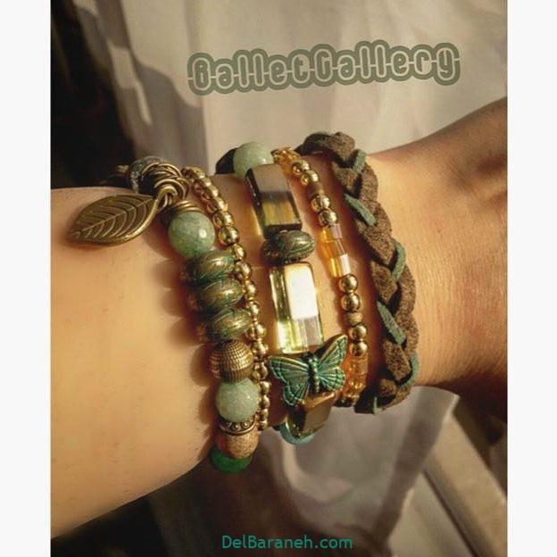 دستبند (۵) مهره ای