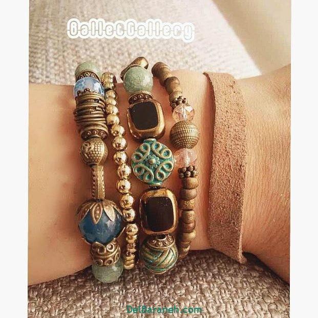 دستبند مهره ای (۸)